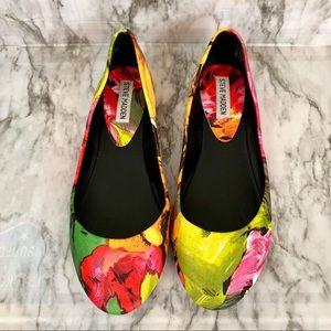 Steve Madden multicolor flats | Size 8